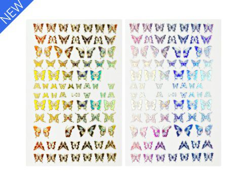 Sticker Set 2 τμχ. HoloGraphic H3
