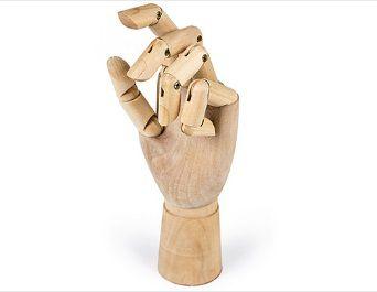 Ξύλινο Χέρι Παρουσίασης