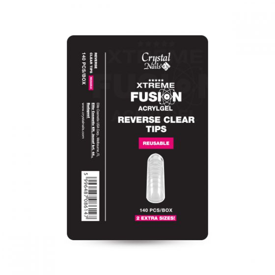 Xtreme Fusion AcrylGel Clear Tip - 140τμχ.