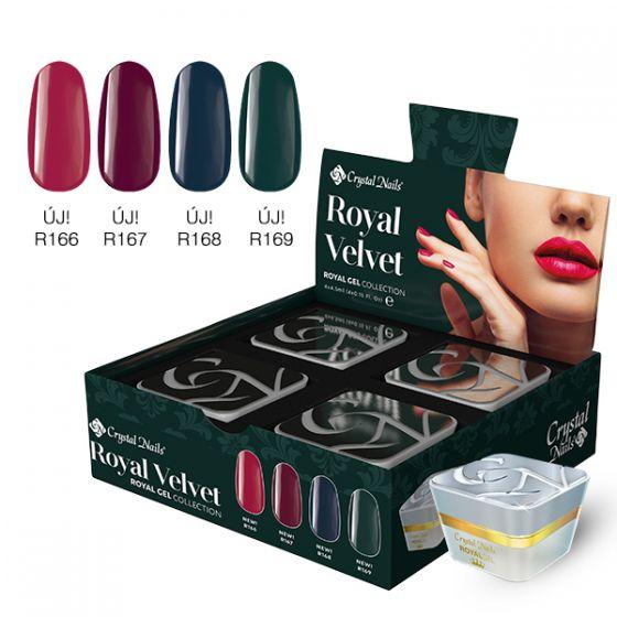 Σετ Προσφοράς 2020 Royal Gel kit - Velvet 4x4,5 ml