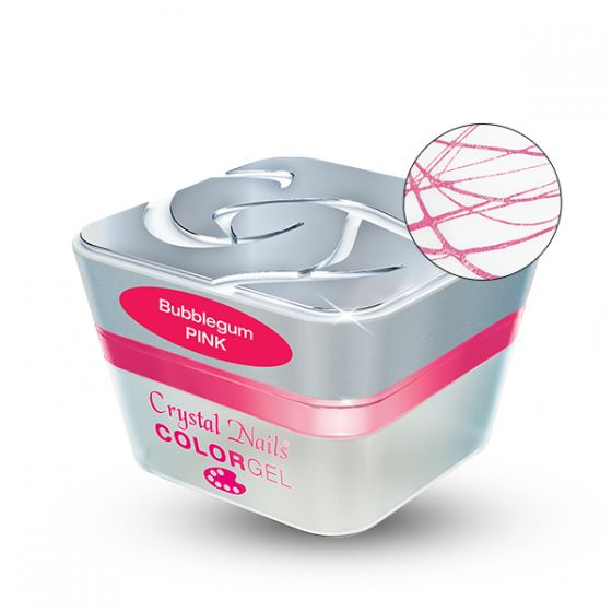 Bubblegum Ελαστικό Nail Art Color gel - Pink 3ml