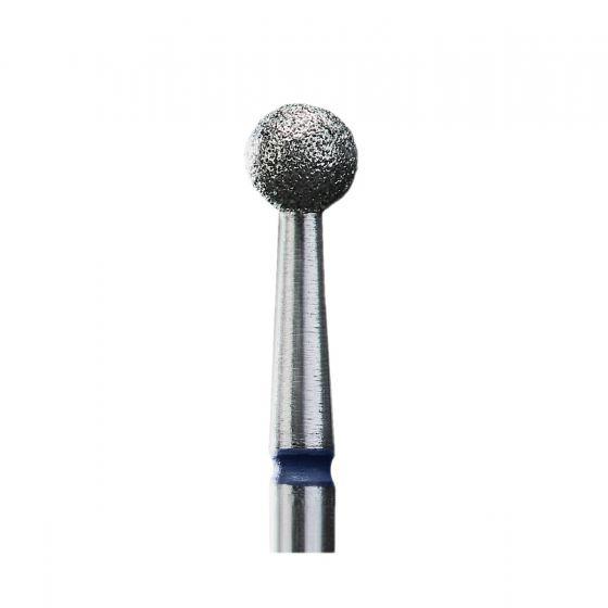 Διαμαντόφρεζα Μπίλια (4mm) Κοπής Επωνυχίων - Μέτρια Μπλε - STALEKS FA01B040K