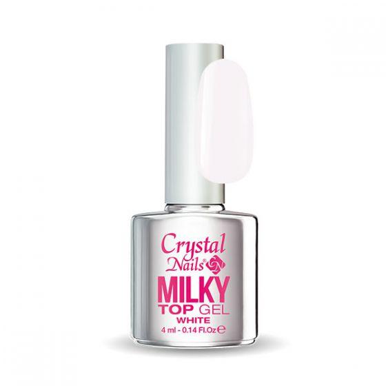 Milky Top Gel - White 4ml