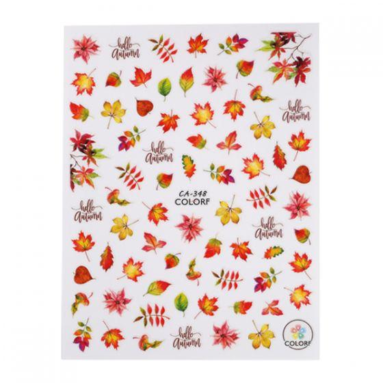 Sticker (CA-348) Φθινοπωρινά Φύλλα