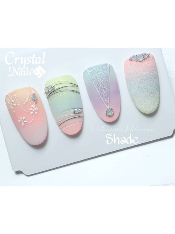 Bubblegum Ελαστικό Nail Art Color gel - Rose Gold 3ml
