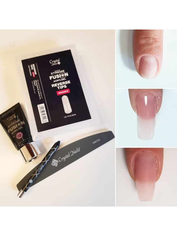 Xtreme Fusion AcrylGel Clear Tip