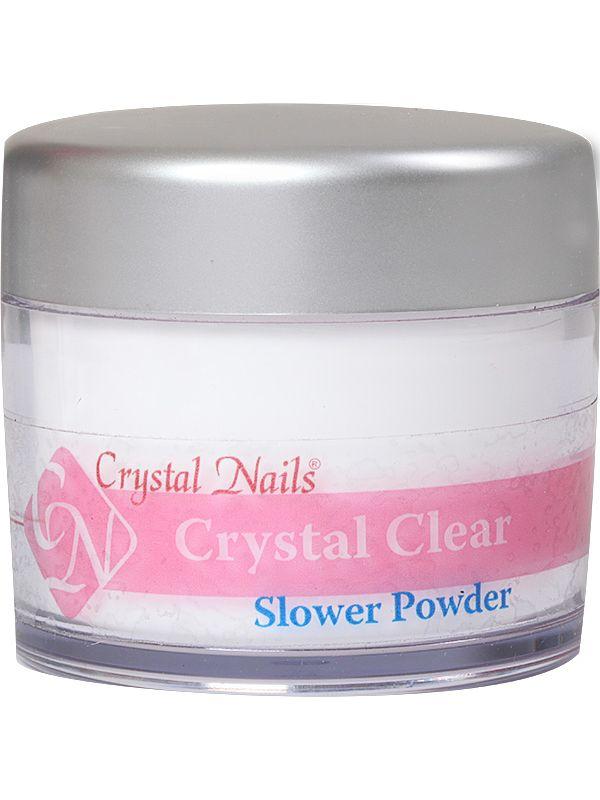 Ακρυλική Πούδρα Slower Crystal Clear 100g (140ml)