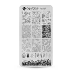 Stamping Plate - Tropical